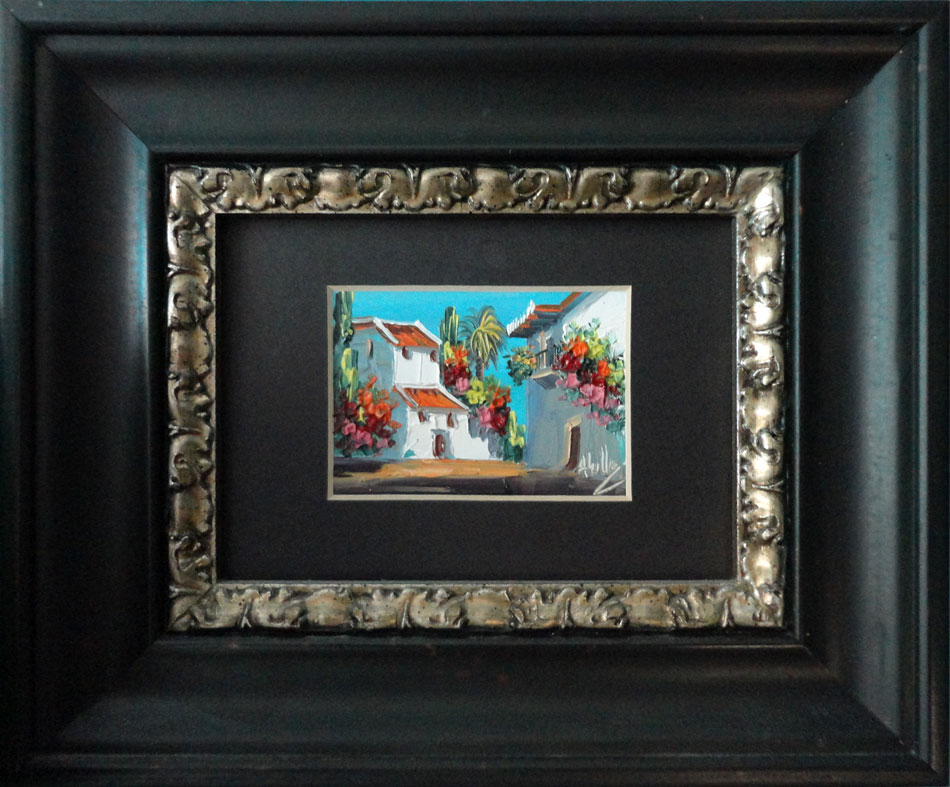 Gallery of Picture Frame Ideas & Examples - Black Gold Gallery & Frame